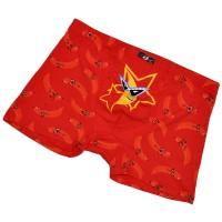 "Трусы мужские ""Банан звезда"" (red)"