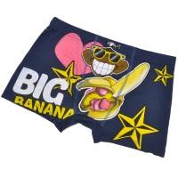 """Трусы мужские """"Big banana"""" (dark blue)"""