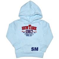 """Толстовка детская с капюшоном """"New York"""""""