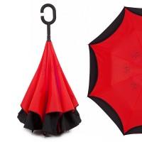 "Зонт наоборот ""Pasio"", красный"