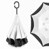 "Зонт наоборот ""Pasio"", белый"