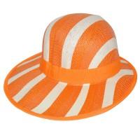 """Шляпа женская, плетеная """"Яркие полосы"""" -13"""