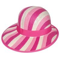 """Шляпа женская, плетеная """"Яркие полосы"""" -18"""