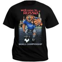 "Футболка ""Welcome to Russia (world championship)"""