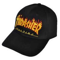"Бейсболка ""Thrasher magazine"" (black)"