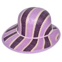 """Шляпа женская, плетеная """"Яркие полосы"""" -25"""