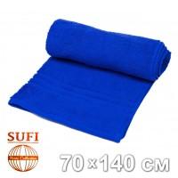 Полотенце махровое, банное SUFI (Индия), синий