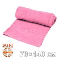 Полотенце махровое, банное SUFI (Индия), сиреневый