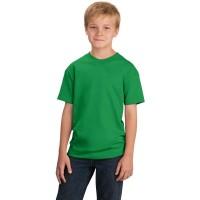 Футболка подростковая, однотонная, цвет зеленый