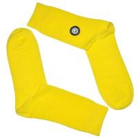 Носки желтые, мужские