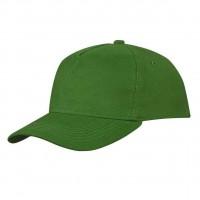 Бейсболка зеленая (велюровая)