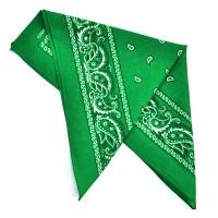 """Бандана """"Огурцы в квадрате"""" -30 (green)"""