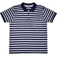 "Рубашка-поло с карманом ""Полоса"" (Fazo-R) -02"