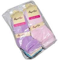 """Носки подростковые, для девочек, """"Royal Gem"""" упаковка 10 пар"""