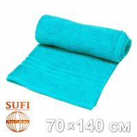 Полотенце махровое, банное SUFI (Индия), голубой