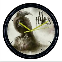 "Рок-часы ""In Flames"" (ворон)"
