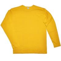 """Футболка с длинным рукавом """"Stuff"""" (желтый)"""
