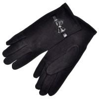 Перчатки женские, трикотажные -13