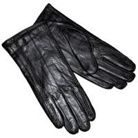Перчатки женские, натуральная кожа -30