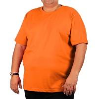 """Футболка большого размера """"Стандарт"""", цвет оранжевый"""