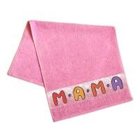 """Полотенце махровое, подарочное """"Мама"""""""