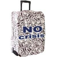 """Чехол на чемодан """"No crisis"""""""