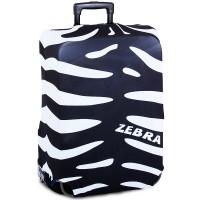 """Чехол на чемодан """"Окрас зебры"""""""