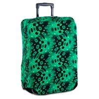 "Чехол на чемодан ""Зеленая абстракция"""
