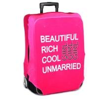 "Чехол на чемодан ""Beautiful Girl"""