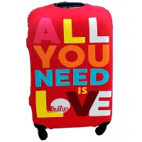 "Чехол на чемодан ""All You Need Is Love"""