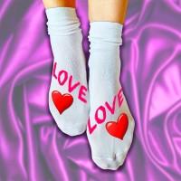 """Носки женские с надписью """"Love"""""""