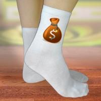 Женские прикольные носки с баксами