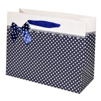 """Пакет подарочный """"Нежность"""" (blue, 23x18)"""
