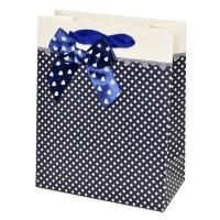 """Пакет подарочный """"Нежность"""" (blue, 12x15)"""