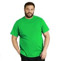 Футболка мужская, большого размера, зеленого цвета