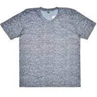 """Футболка мужская """"Ecotex-UZ"""", большого размера, серый меланж"""