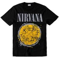 """Футболка """"Nirvana"""" (Yellow smile)"""
