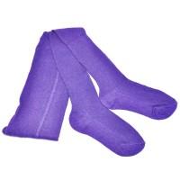 Колготки детские, трикотажные (фиолетовый)