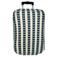 """Чехол на чемодан """"Синие полосы"""""""