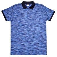 """Рубашка-поло """"Fazo-R"""", синий меланж"""