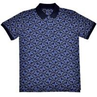 """Рубашка поло тёмно-синяя """"Турецкий огурец"""" (Samo)"""