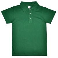 """Рубашка-Поло подростковая """"Fresh"""" (зеленый)"""