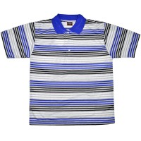 """Рубашка-поло """"Полоса"""" (Индия) -06"""