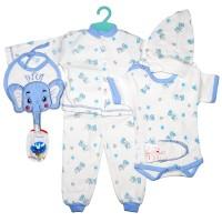 """Набор для новорожденного """"Слоник"""" (синий)"""