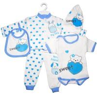 "Набор для новорожденного ""Sweet"" (синий)"