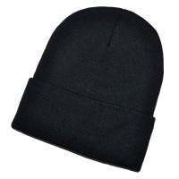 Шапка для вышивки, черная