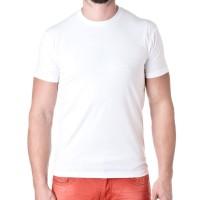 Футболка классическая White Cotton (Индия), белая