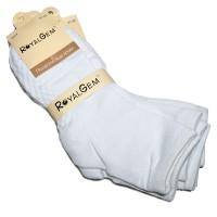 """Носки подростковые, белые, """"Royal Gem"""" упаковка 5 пар"""