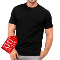 Футболка мужская RexTex (черный)