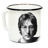 """Кружка металлическая """"John Lennon"""" (эмаль)"""